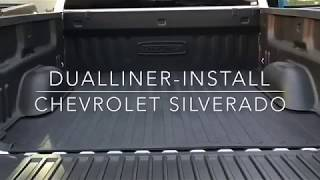 DualLiner install on a 2018 Chevy Silverado with standard bed