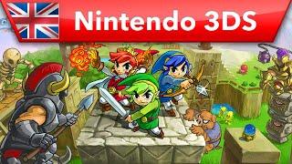 The Legend of Zelda: Tri Force Heroes - Preview Trailer (Nintendo 3DS)