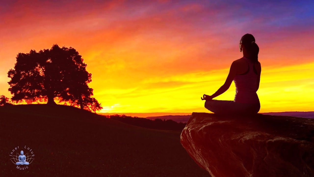 Peaceful Evening Flute Meditation Music   Find Inner Peace & Calm   Let go of Stress   432 Hz Bowl