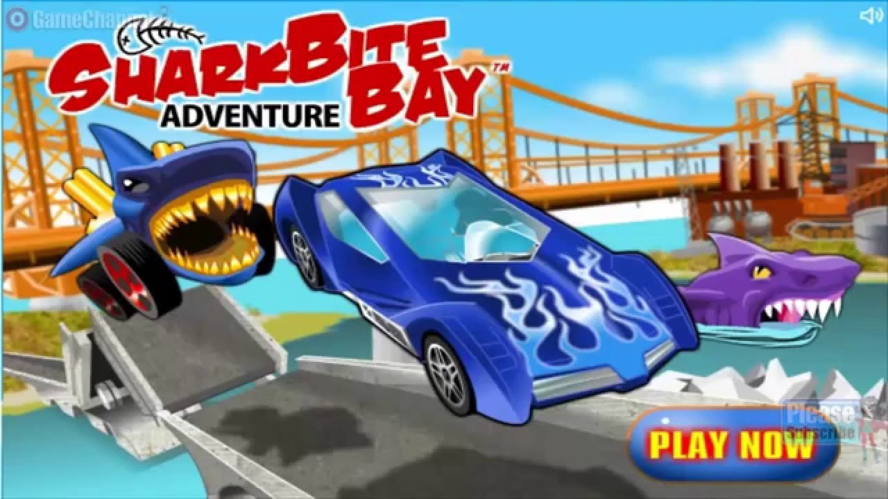 Hot Wheels Racing SharkBite Bay Adventure ONLİNE FREE GAMES GAMEPLAY