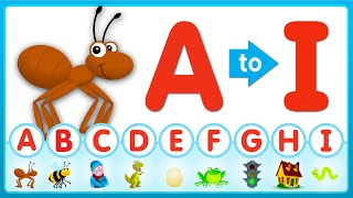 A-I Review Song (Uppercase) | Super Simple ABCs