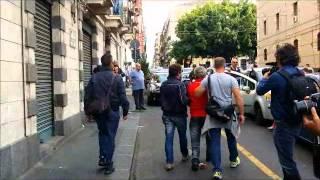 Blitz Polizia, gli arresti in diretta