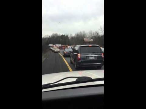 Bad wreck on 85 south in Gastonia