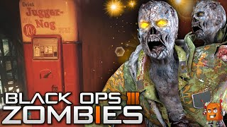 "Black Ops 3 ZOMBIES | GET JUGGERNOG ROUND 2! / ""Shadows of Evil"" EPIC Tip! (BO3 Zombies)"