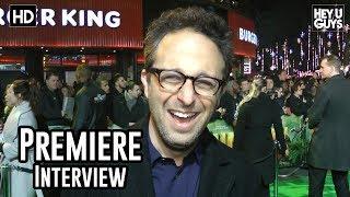 Director Jake Kasdan   Jumanji: Welcome To The Jungle Premiere Interview