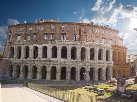 ROME Circus maximus, forum boarium et théâtre Marcellus
