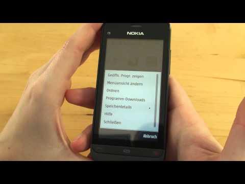 Nokia C5-03 Test Bedienung