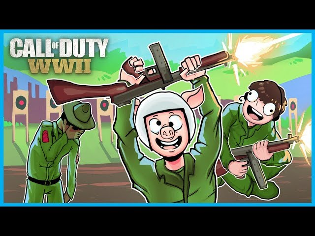 Call of Duty: World War II Funny Moments! - Emote Glitches Fun, Bomb Plant Glitch, Ninja Defuses!