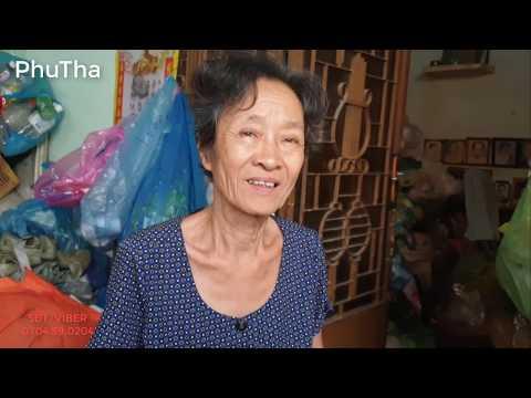 Lần đầu gặp cụ bà t.â.m  t.h.ầ.n vợ của cụ ông 71 tuổi nhặt ve chai - PhuTha