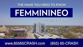 Michigan Auto Accident – Straight Talk with Injury Attorney David Femminineo | 85565Crash.com