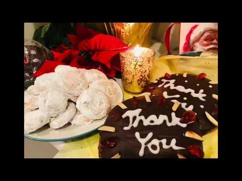 German / Austrian Christmas Cookies - Vanillekipferl & Gingerbread