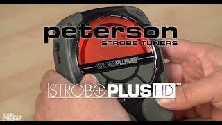 Peterson Strobe Tuners: StroboPlus HD Walkthrough (Official)
