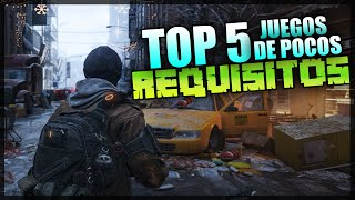 Top 5 Juegos de pocos REQUISITOS PARA PC (2016) ¡¡ + LINKS MEDIAFIRE Y MEGA SIN UTORRENT