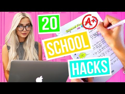 20 Back To School Life Hacks Everyone Should Know! + Giveaway