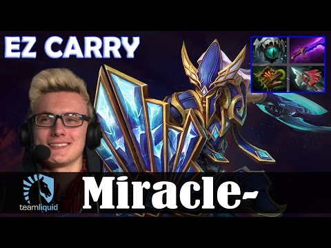 Miracle - Silencer MID | Ez CARRY | Dota 2 Pro MMR  Gameplay