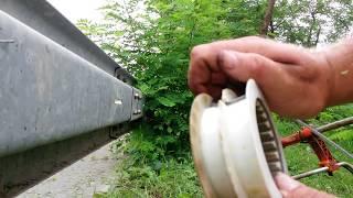 Křovinořez husqvarna  -  výměna struny