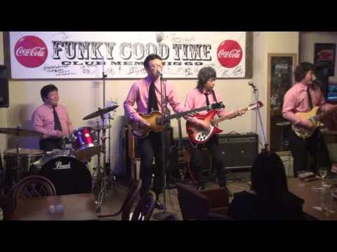 CHAINS Live at FUNKY GOOD TIME, 1st stage, BEATLES Cover