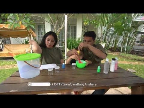 JANJI SUCI - Tutorial Membuat Slime Ala Rafathar! (14/10/18) Part 1