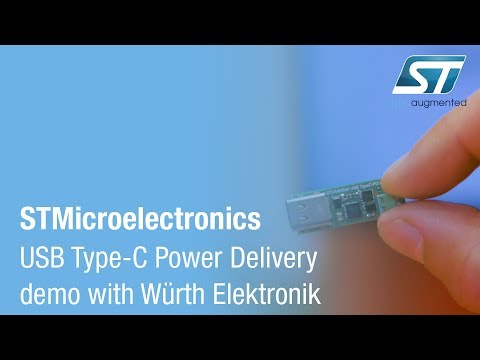 STPartner at Electronica - USB Type-C Power Delivery demo with Würth Elektronik