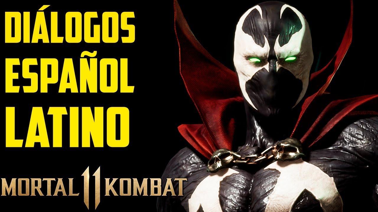 Mortal Kombat 11 | Español Latino | Todos los Diálogos | Spawn |