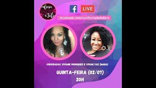 Confraria Ao Vivo - 02/07/2020 - Empoderamento Feminino no Samba
