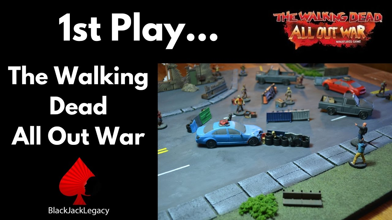how to play walking dead all out war