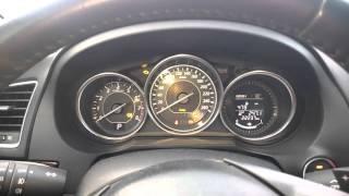 Mazda 6 2014 cold start.  Холодный запуск Мазда 6 2014