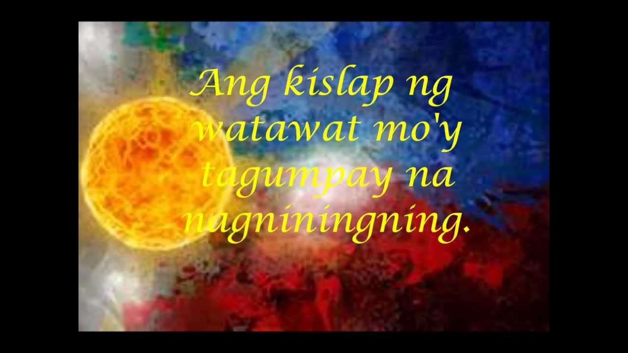 Awit Ng Kabataan Lyrics by Rivermaya