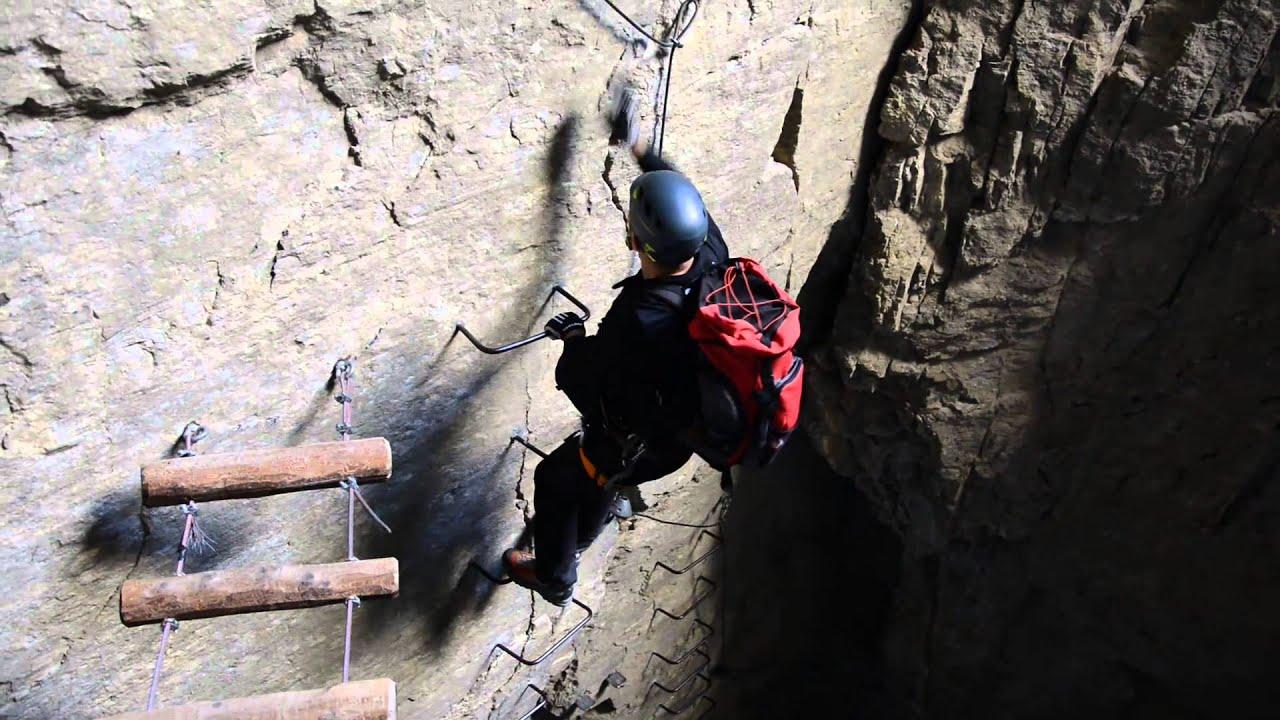 Klettersteig Daubenhorn : Daubenhorn klettersteig youtube