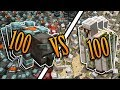 100 BEASTS VS. 100 GOLEMS - Who Will Win? (Minecraft)