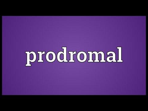 Header of prodromal