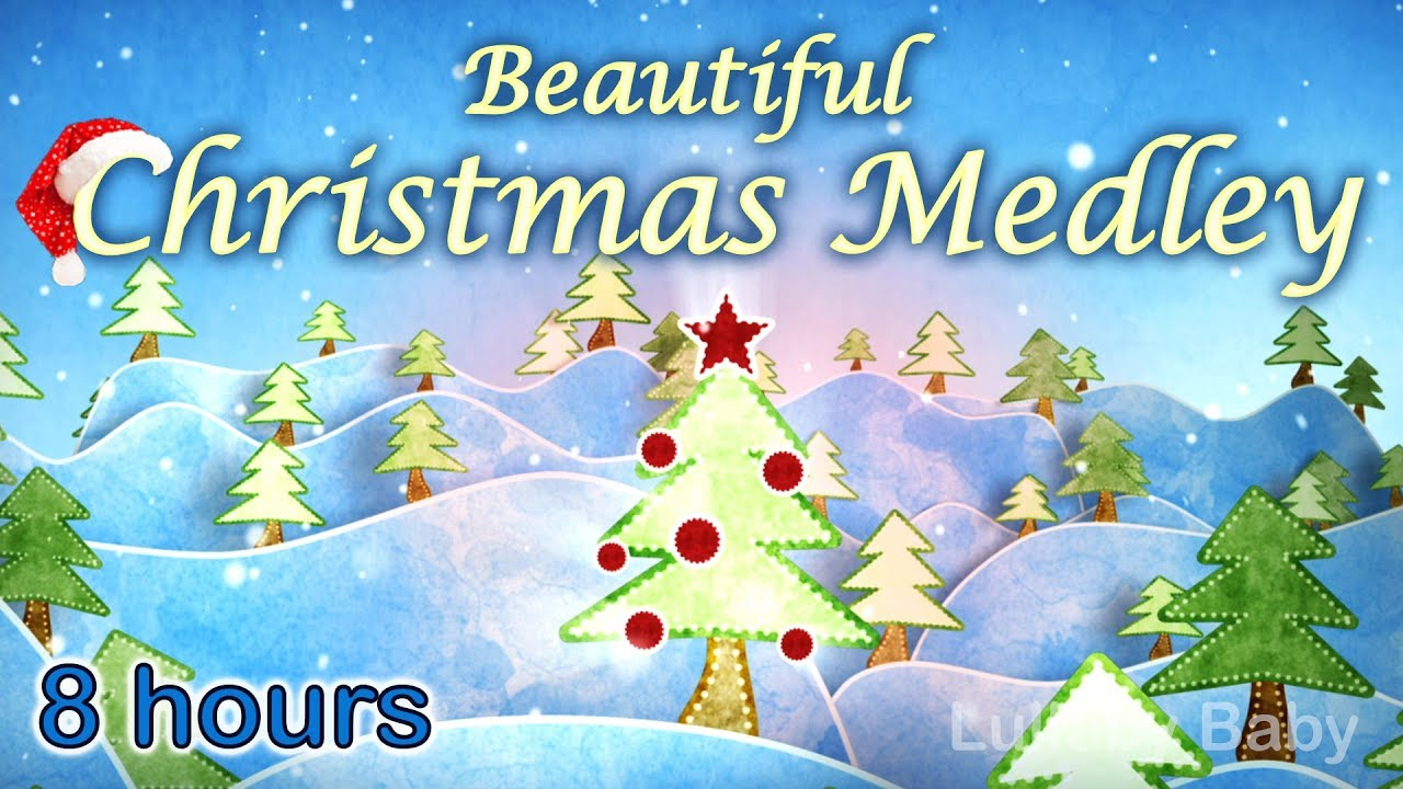 Instrumental Christmas Music.8 Hours Christmas Music Instrumental Christmas Music Playlist Peaceful Piano Medley