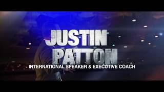 Justin Patton - Executive Coach and Keynote Speaker