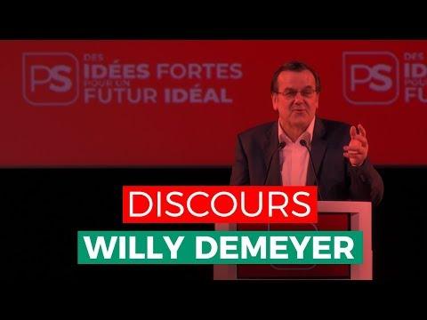 Des idées fortes pour un futur idéal ! Discours de Willy Demeyer