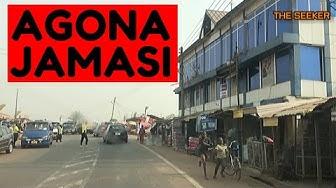 Agona - Jamasi via Kona and Tano Odumasi in the Ashanti Region of Ghana: Enjoy the ride with Seeker.