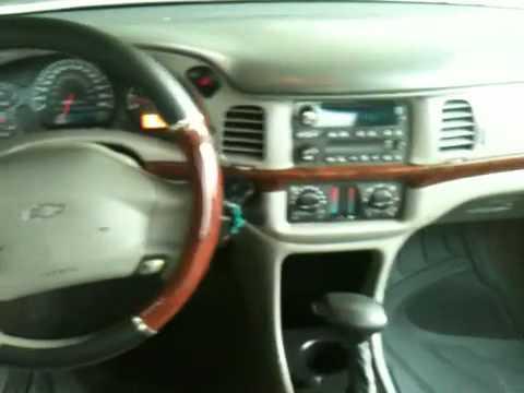 2005 Chevy Impala LS   Mileage: 62k *(Interior Compartment)   YouTube