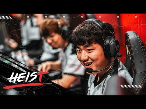 THIS IS BANG! THIS IS 100 THIEVES! | The Heist (LCS Week 3 VS CG + CLG)