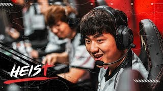 THIS IS BANG! THIS IS 100 THIEVES!   The Heist (LCS Week 3 VS CG + CLG)