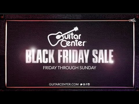 Guitar Center's Black Friday Sale feat Slash & Savings up to 80%