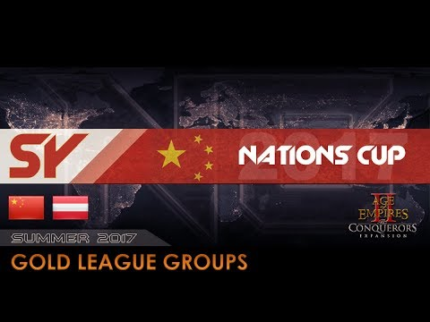 China Frantic vs Austria A | Nations Cup 2017 - Gold Groups