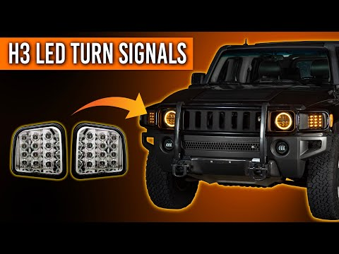 How To Install New LED Turn Signals On Your Hummer H3