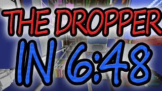 Minecraft: The Dropper in 6:48 (All 17 Levels)