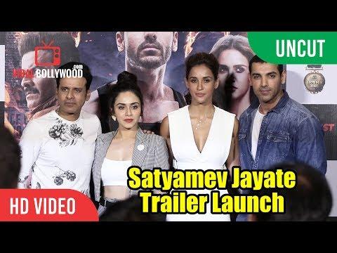 Satyameva Jayate Official Trailer Launch | John Abraham | Manoj Bajpayee | Milap Milan Zaveri