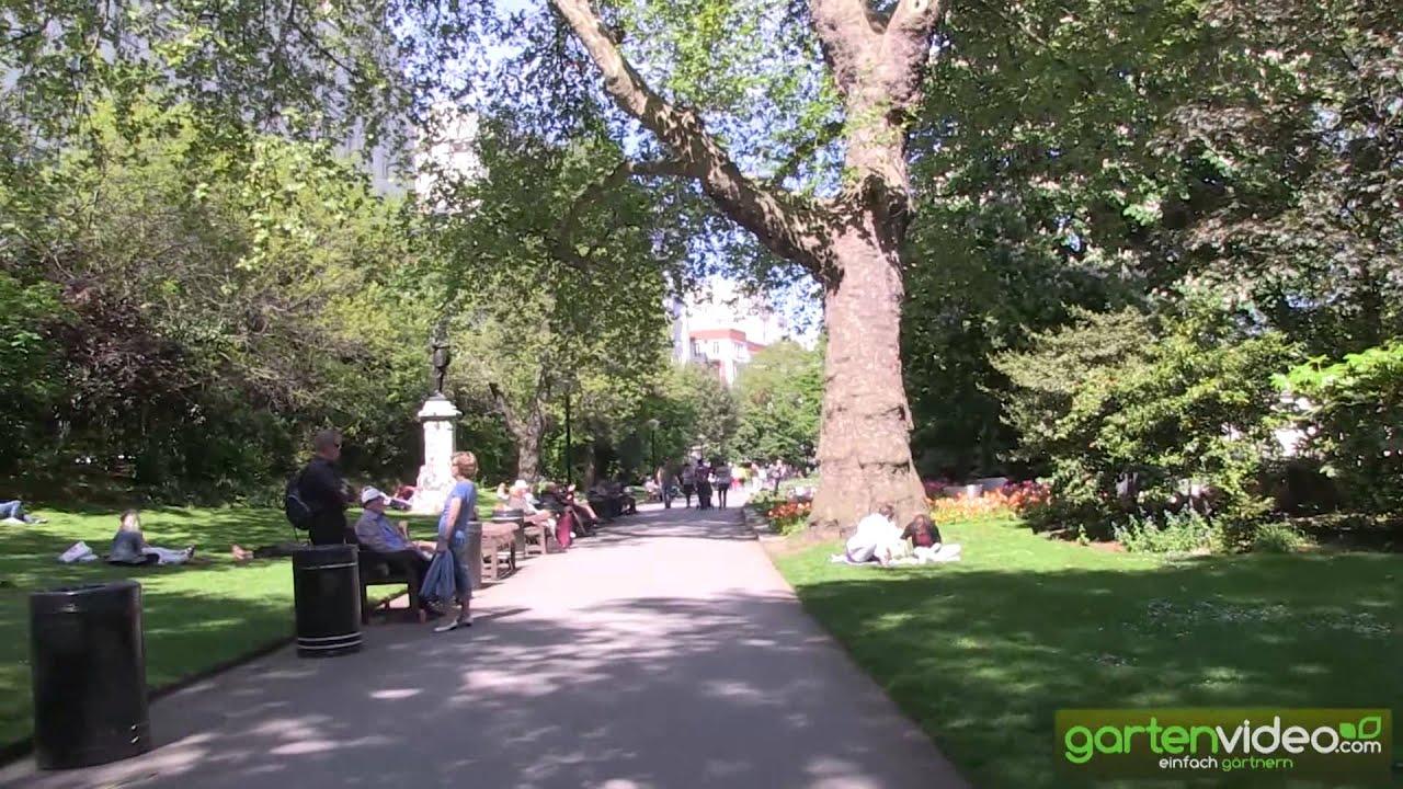 Victoria Embankment Gardens In London Youtube