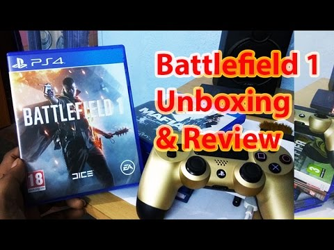 Battlefield 1 Unboxing & Review Ps4 [HINDI]