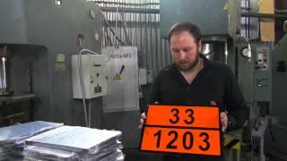 Таблички Опасный груз в России - в чем отличие?