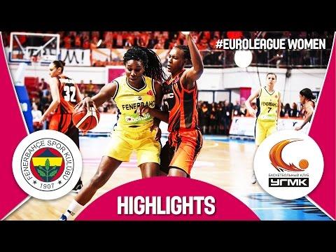 Fenerbahce (TUR) v UMMC Ekaterinburg (RUS) - Semi-Finals - Highlights - EuroLeague Women 2016/17