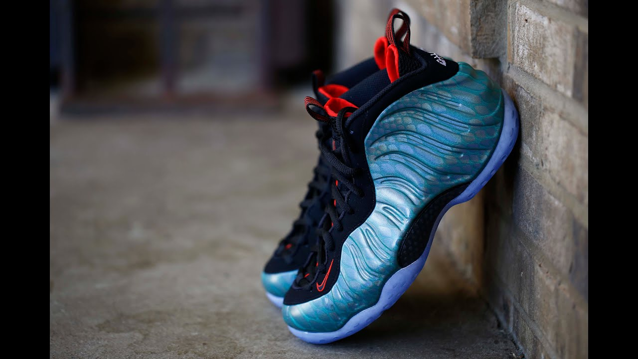Nike Foamposite One PRM Gone Fishing YouTube