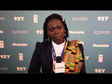 Marieme Jamme: 2015 Social Good Summit