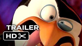 Penguins of Madagascar TRAILER 3 (2014) Benedict Cumberbatch Animated Movie HD
